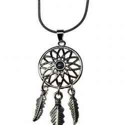 white-dreamcatcher-pendant