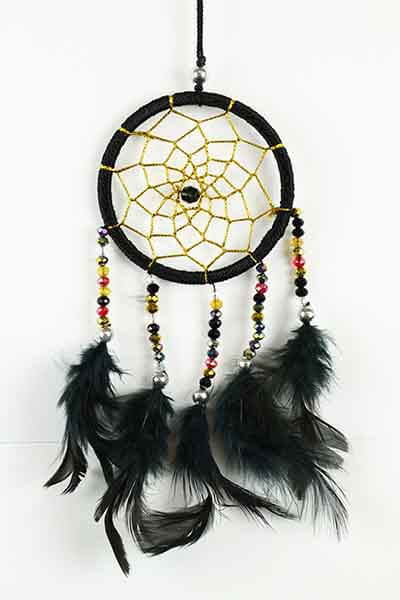 Dreamcatcher Black – Small